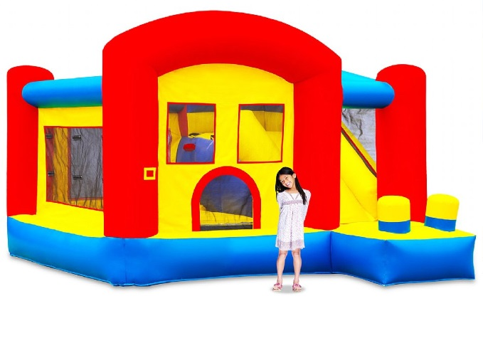 inflable casa de la diversion