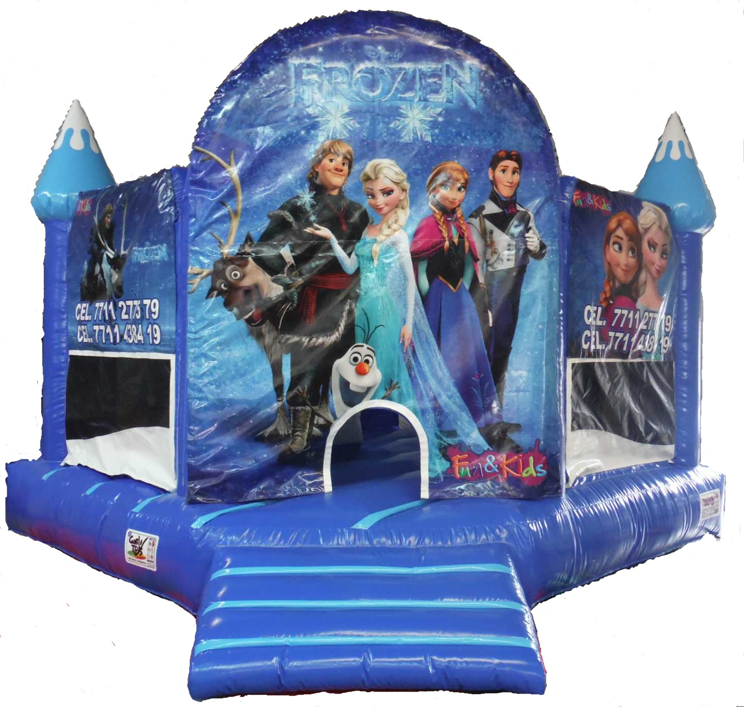 inflable frozen box