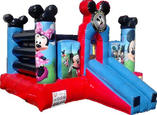 inflable mickey house