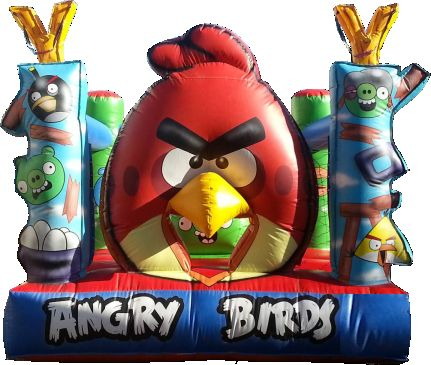 inflable mini angry
