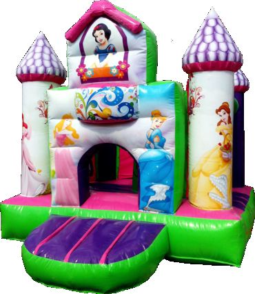 inflable mini princesas