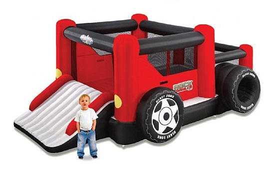 inflable monster truk